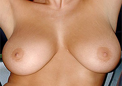 Busty Tanned Natural Tatas Jana